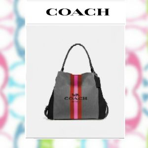 Coach Edie Shoulder Bag 31 with Horse & Carriage
